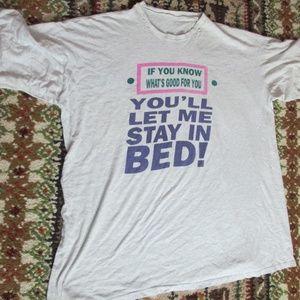 OS Sleepwear Shirt Vintage